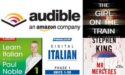 My Current Audible Audio Book List