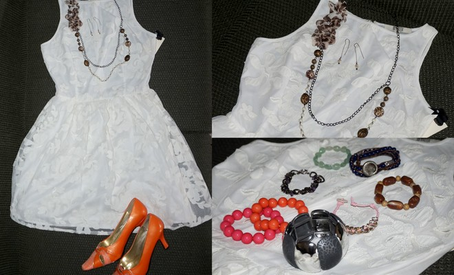 White Dress Accessories