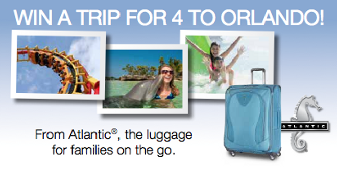 Atlantic Luggage Love + Enter To Win A Trip To Orlando!