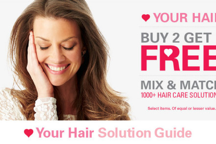 Sally Beauty Mix & Match Hair Care - Buy 2 Get 1 Free
