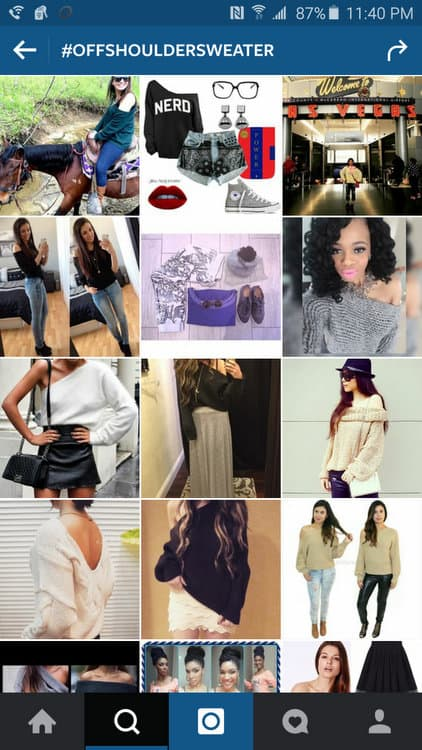Search Instagram for Style Inspiration