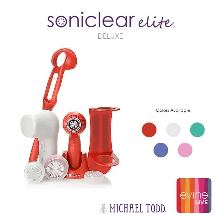 Michael Todd Soniclear Elite Deluxe Evine Live