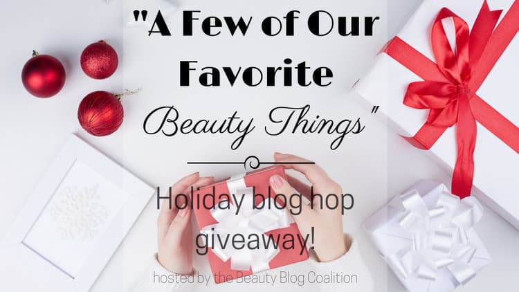 Beauty Blog Coalition Holiday Blog Hop Giveaway