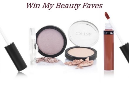 Win Ofra Cosmetics Mina, Miami Fever Liquid Lipsticks and Dupethat Highlighters