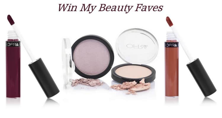Beauty Faves: OFRA Cosmetics Mina, Miami Fever & Dupethat Giveaway