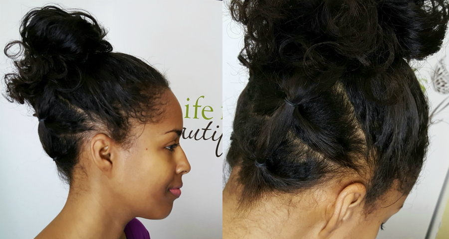 Quick Hair Style For Busy Girls