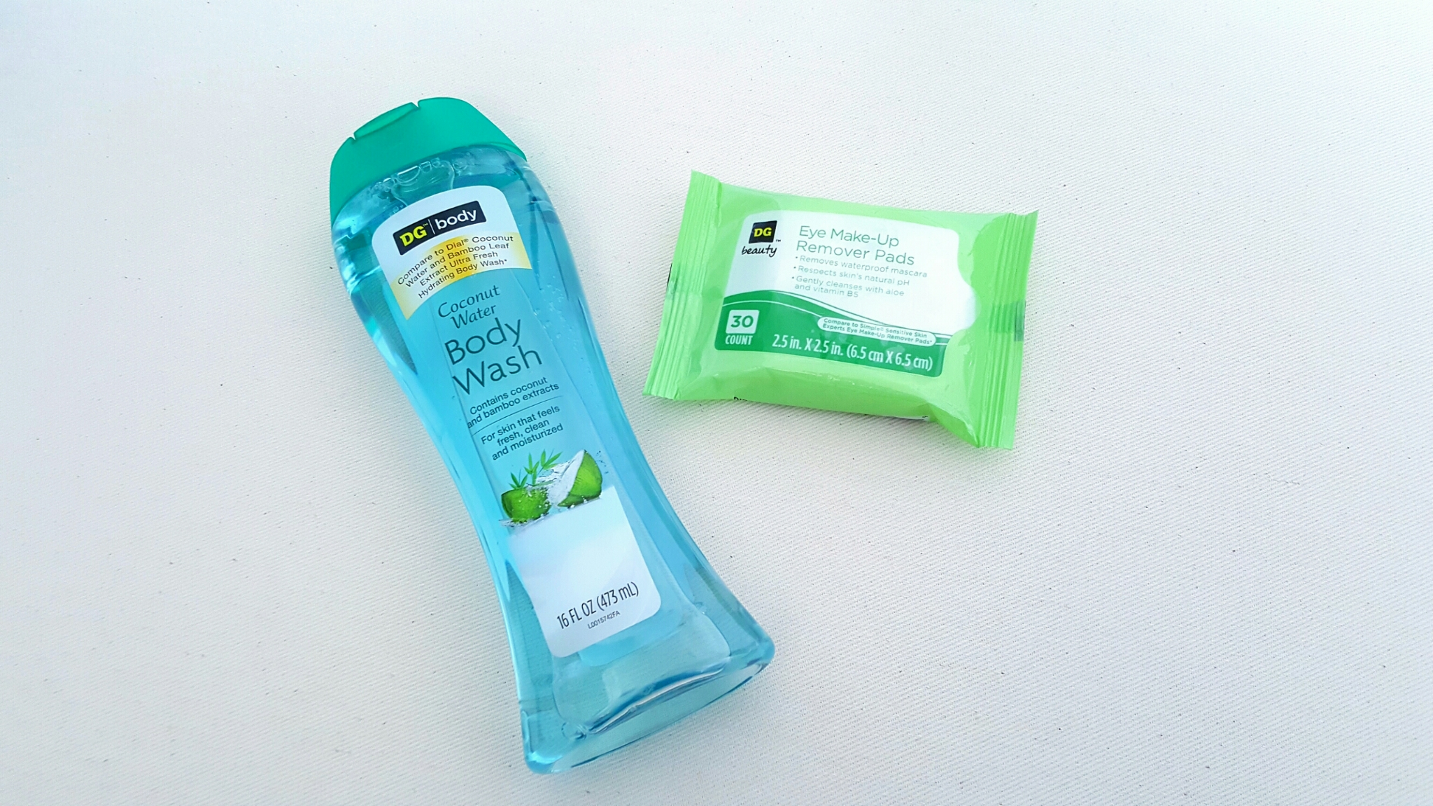 Simple eye makeup remover wipes