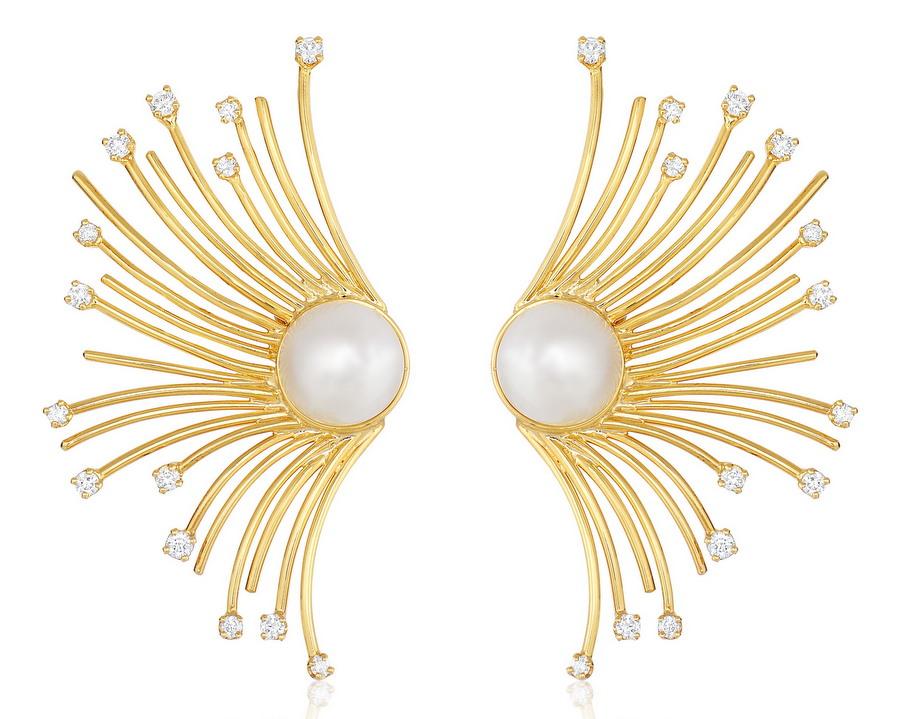 Fern Freeman Eyelash Earrings