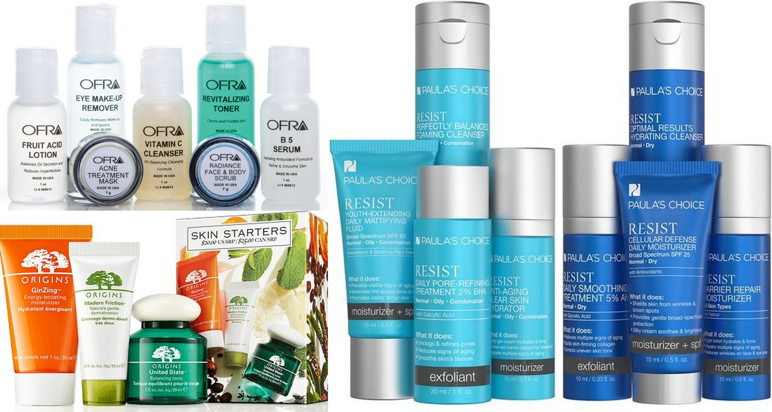 Travel Skincare Kits