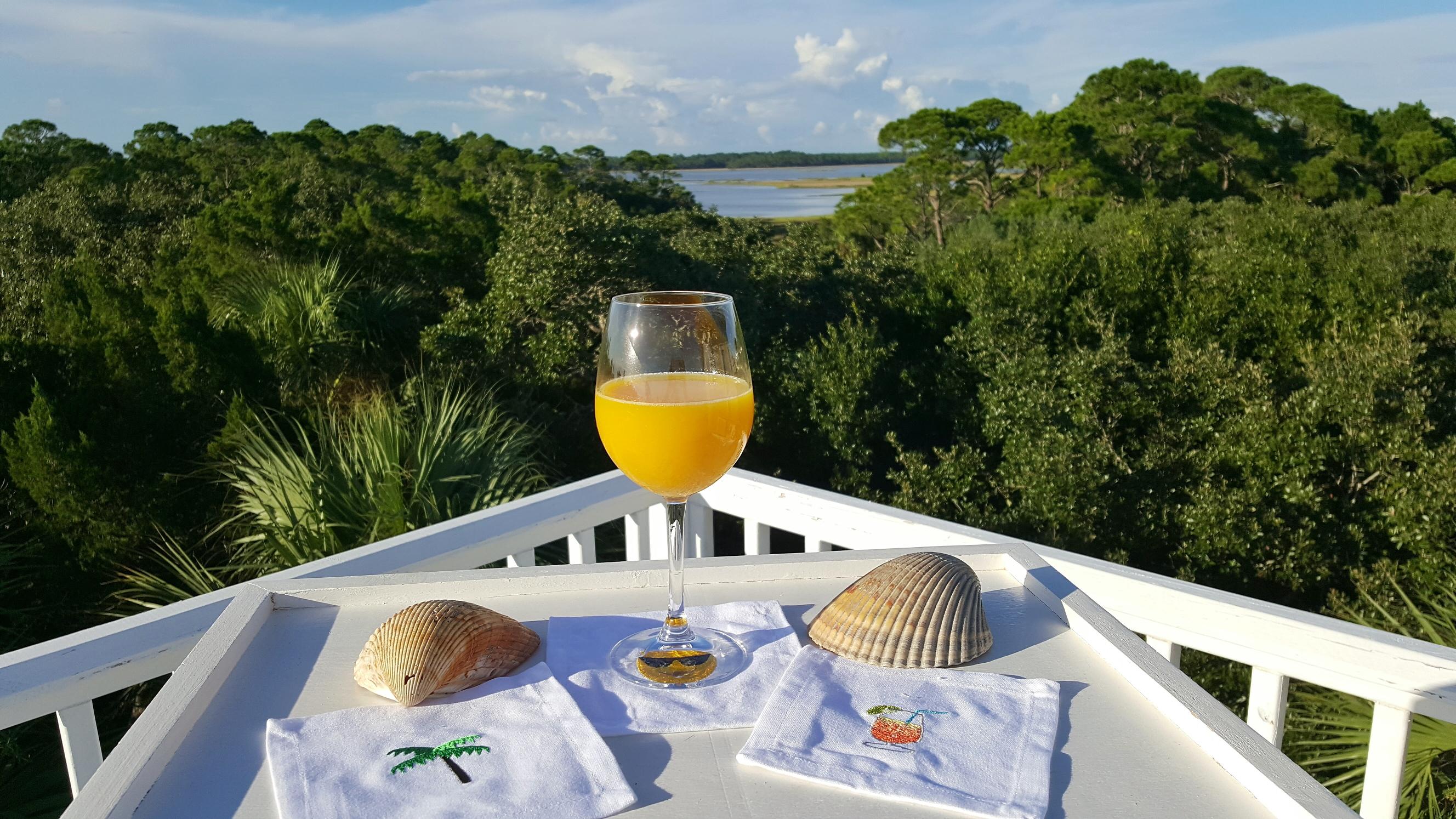 Gulf County, FL   Beachy Keen vacation rental - view of St. Joseph Bay