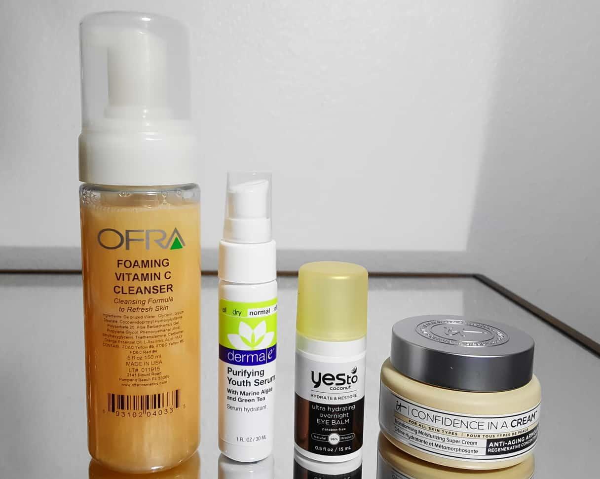 Radiant Skincare Routine - Evening