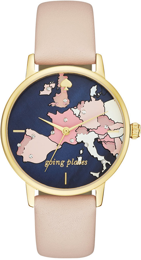 Kate Spade New York Going Places Metro Watch