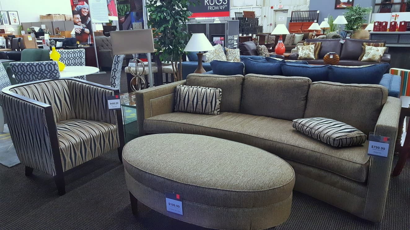 Armand Sofa, Chair And Ottoman At CORT Furniture Clearance Center ...
