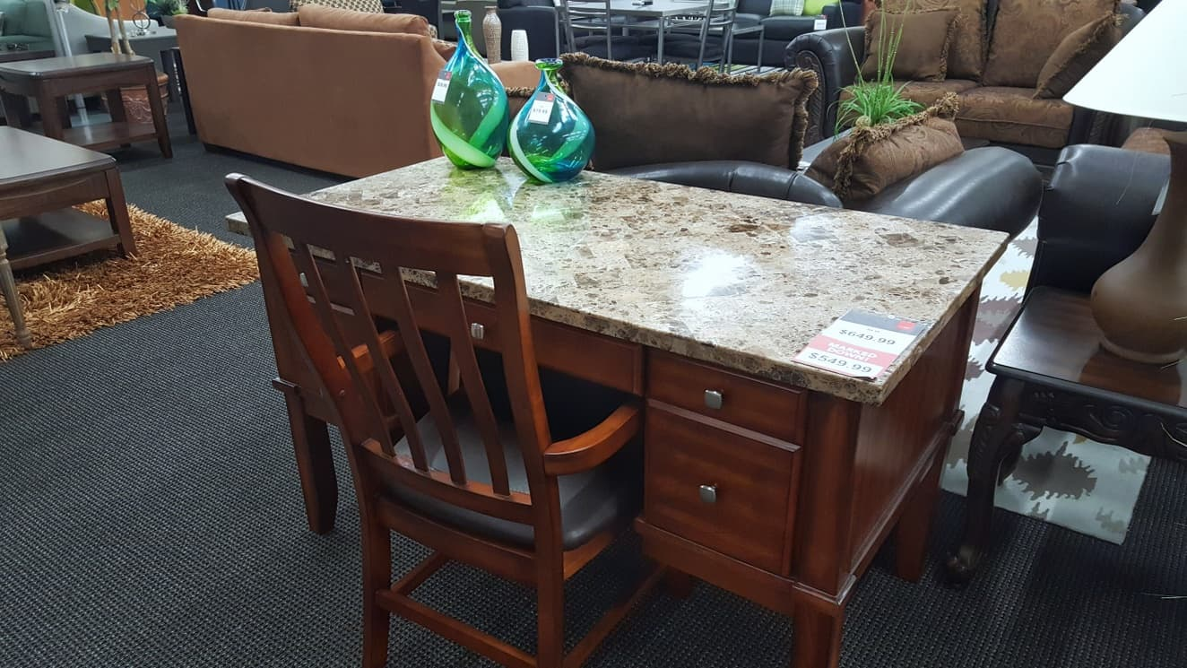Office desk at CORT Furniture Clearance Center