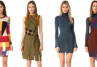 Sweater dresses for Fall 2016