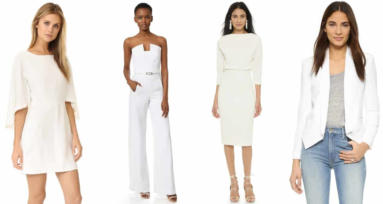 Getting A Head Start On Chic Winter Whites