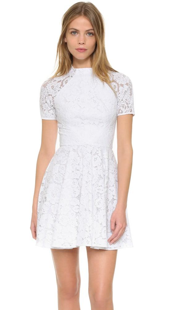 Lover Oasis Mini Dress - White