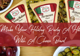 Make Your Holiday Party A Hit With A Cheese Board