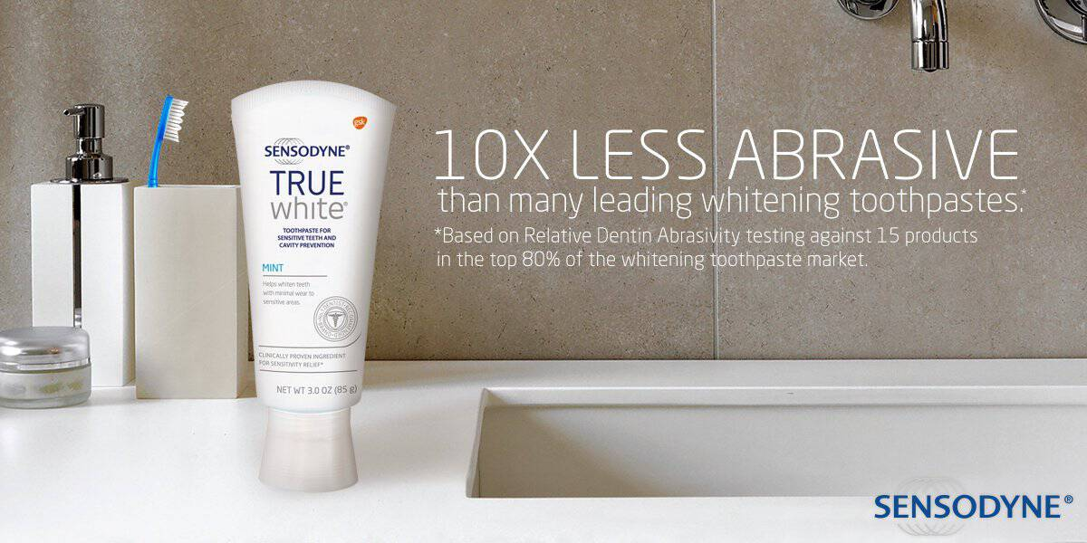Relieve Sensitivity And Whiten Your Teeth #SensodyneTrueWhite
