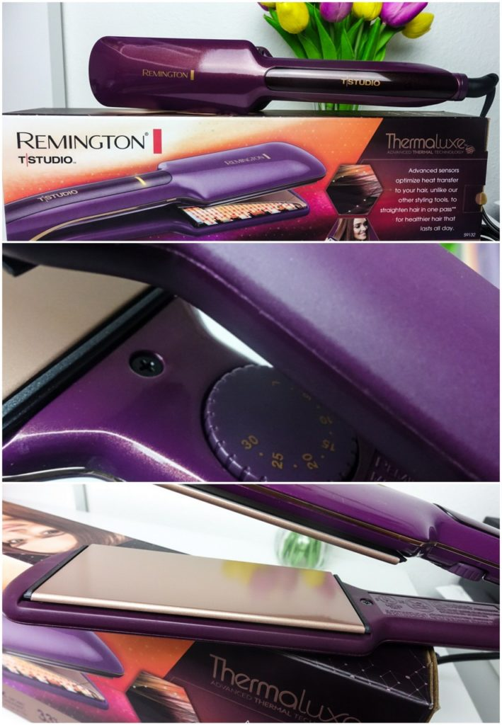 Remington Thermaluxe Wide Straightener