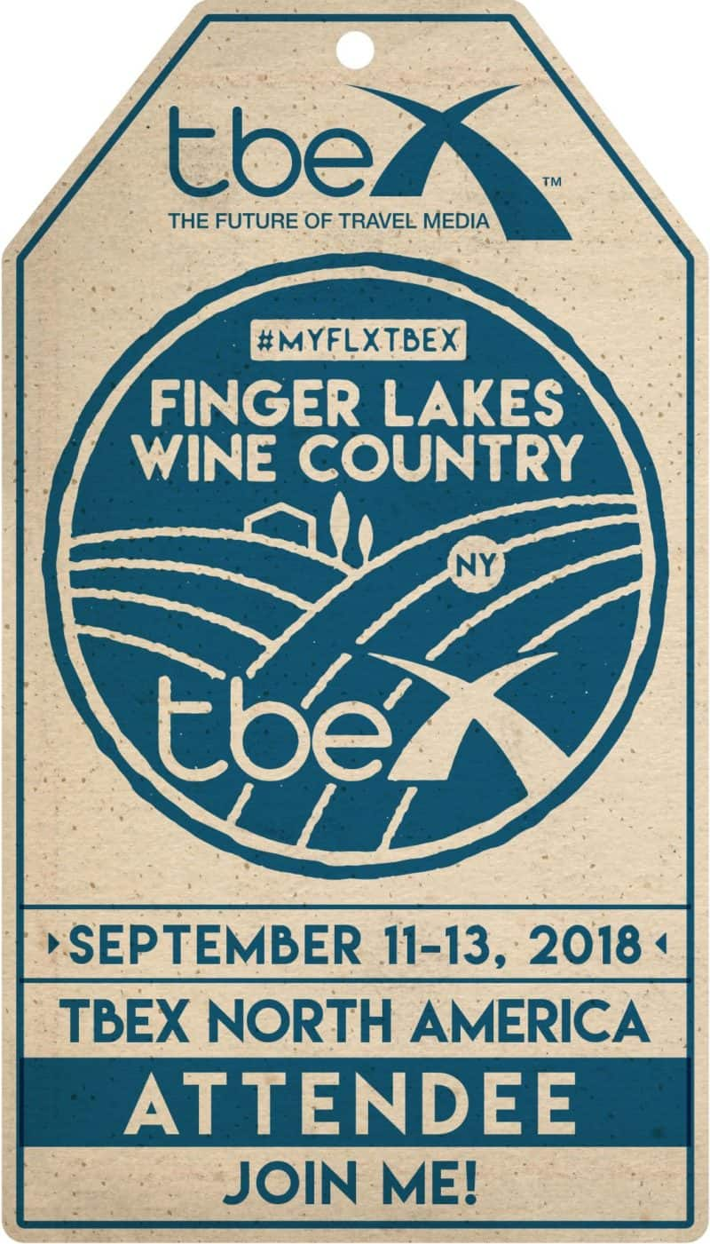 TBEX North America 2018 - Finger Lakes Wine Country - Corning, NY