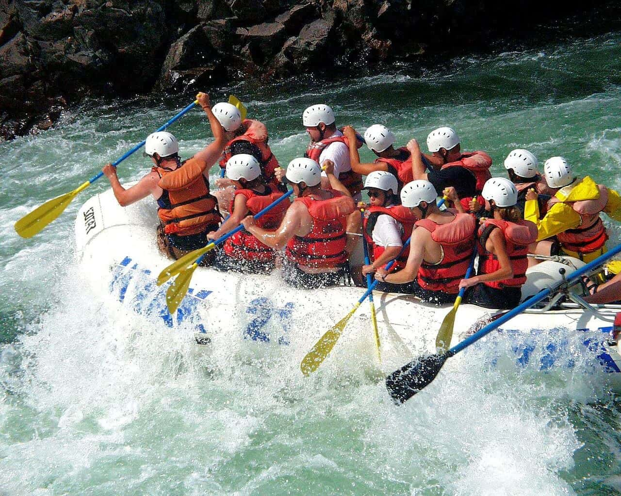 Stag Party Ideas - Rafting