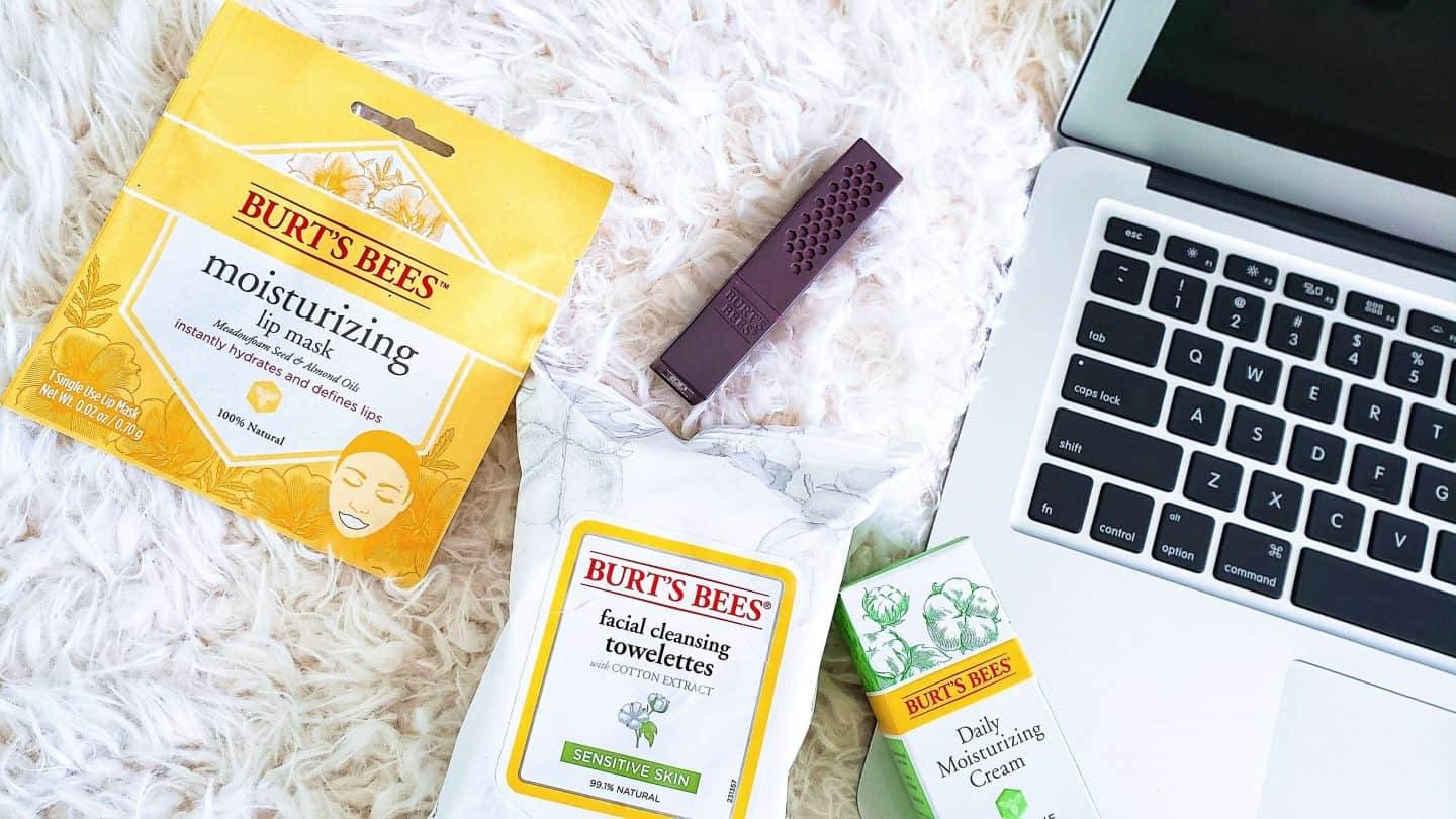 Back To College: Easy Burt's Bees 5-Minute Beauty Routine