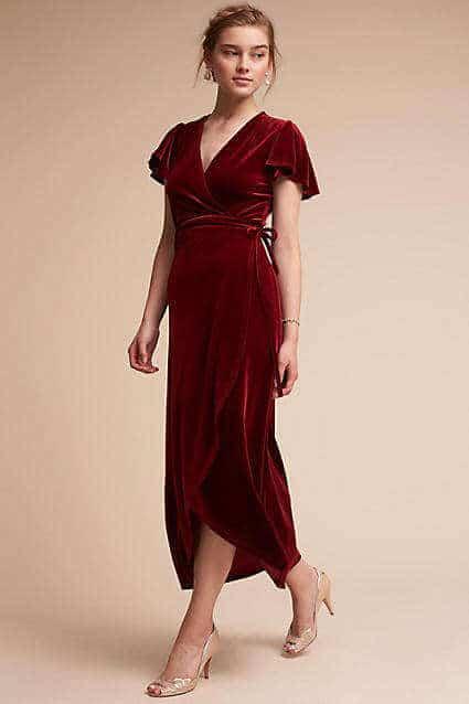 Anthropologie Velvet Dress(1)