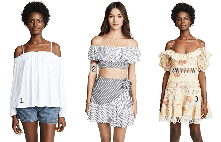 Off The Shoulder - Fashion Trends 2019