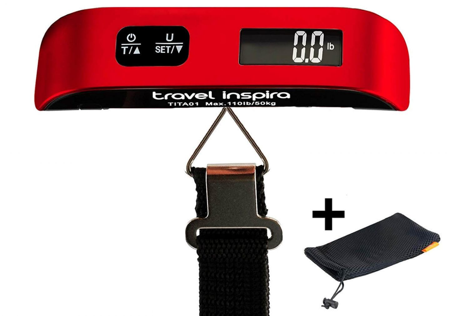Travel Inspira 110LB Digital Luggage Scale