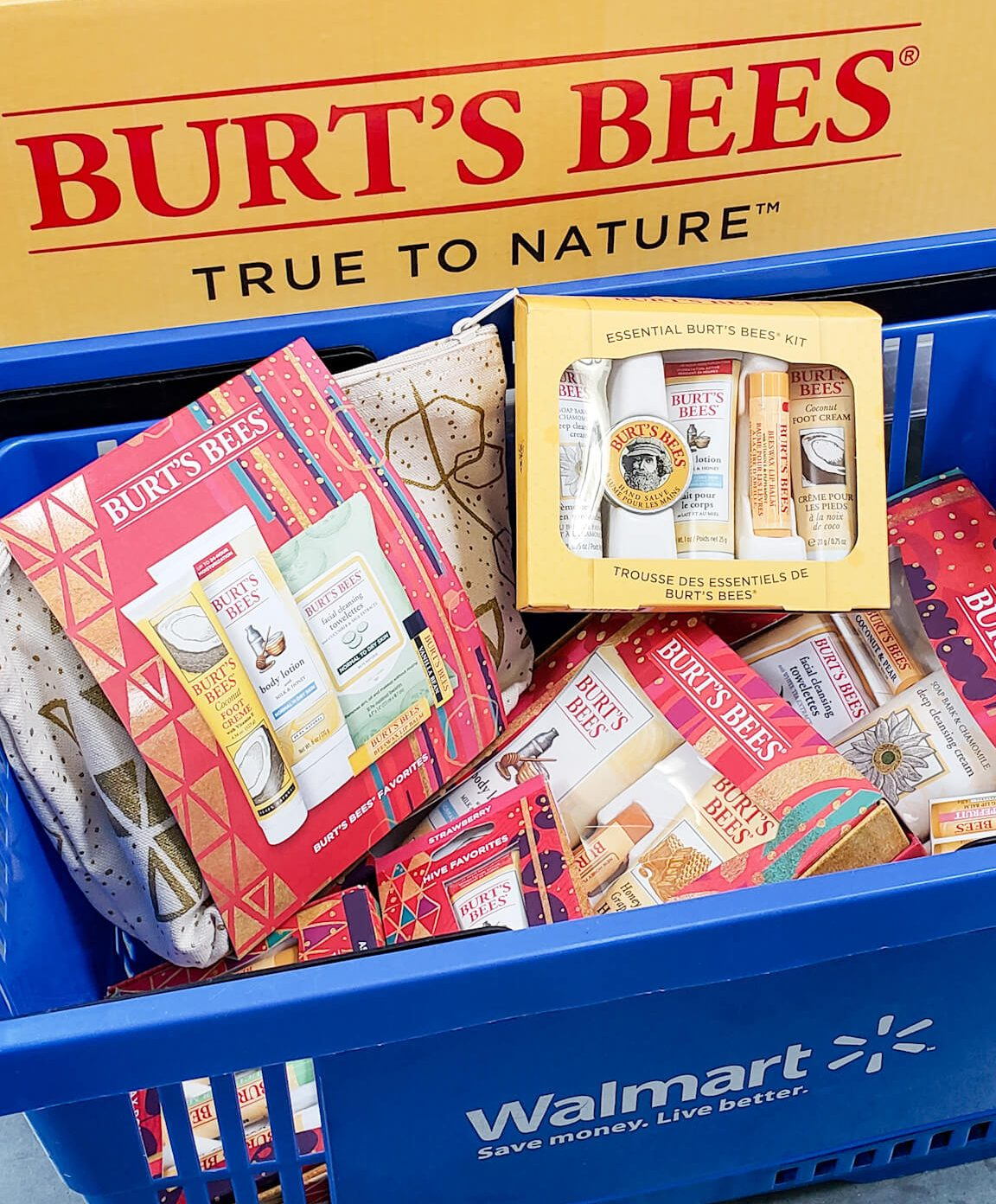 Burt's Bees Holiday at Walmart