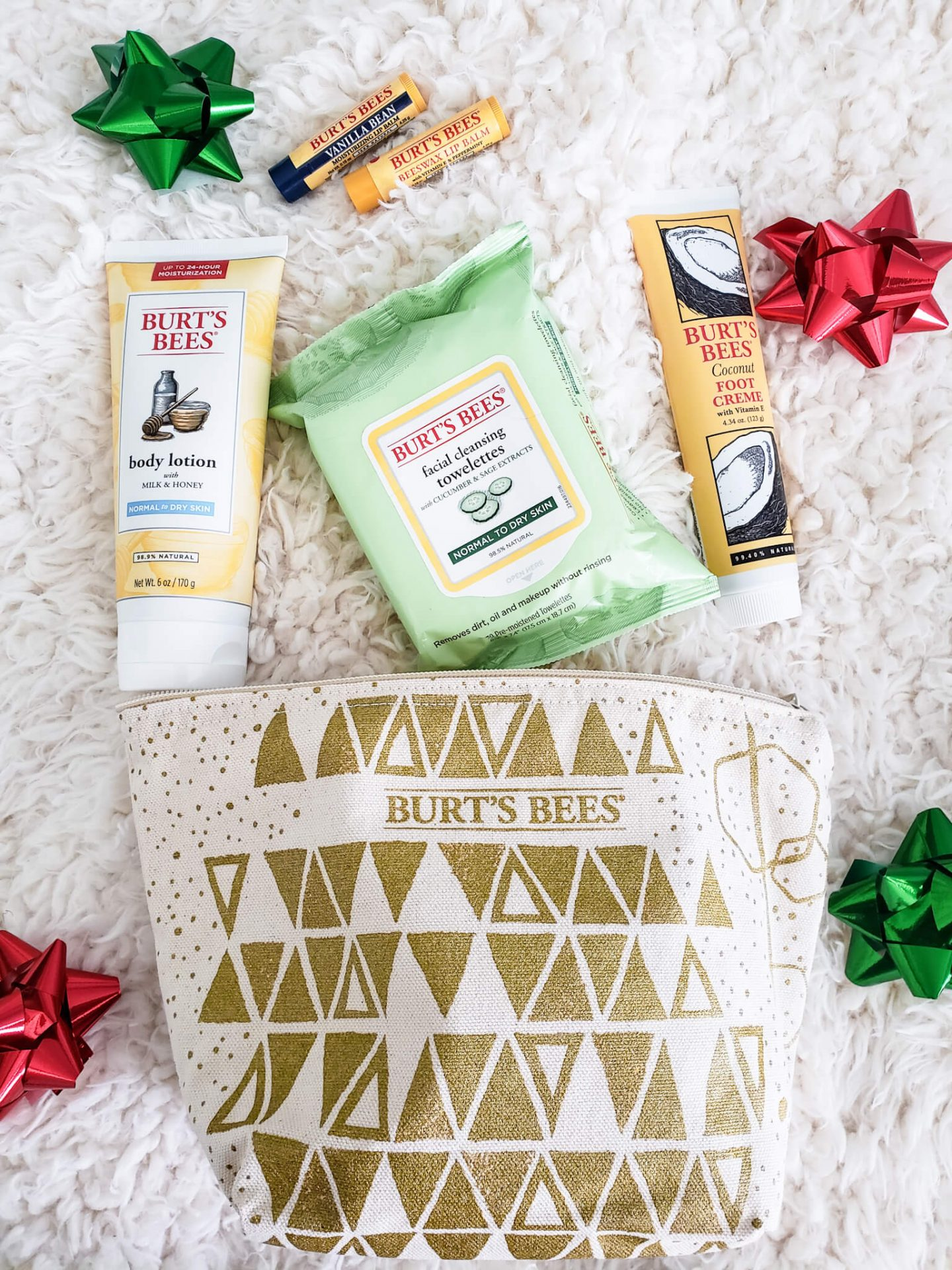 Burt's Bees Skin Care Favorites Holiday Gift Set