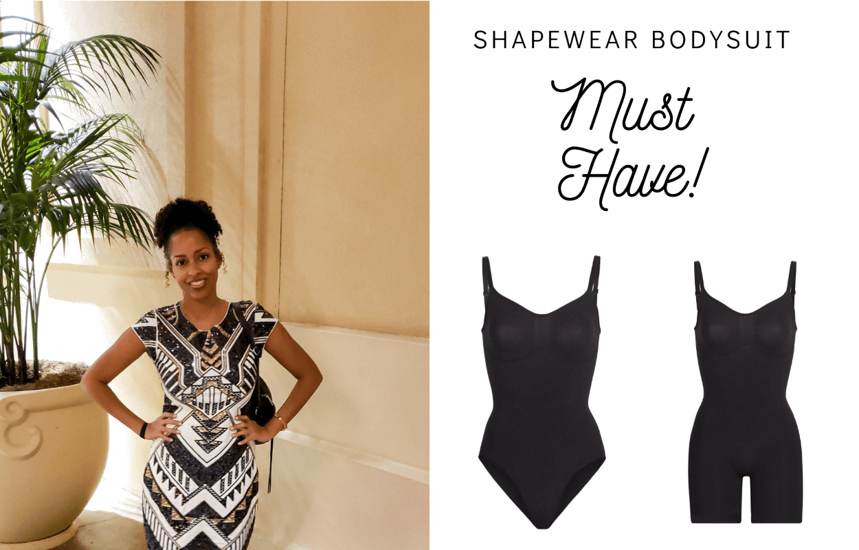 Shapewear bodysuit must have